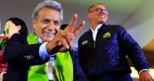 Ecuador: Lenin Moreno proclama victoria; Lasso denuncia fraude