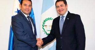 Presidente de Guatemala, Jimmy Morales visitará Honduras