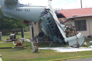 FFAA: Fallece piloto de avioneta estrellada en Palmerola