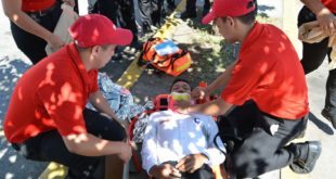 Simulacro: Alcaldía prepara a sampedranos para casos de emergencias