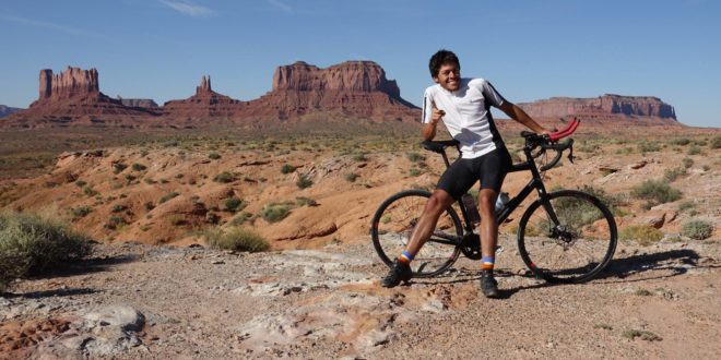 El mexicano que conquistó América en bicicleta