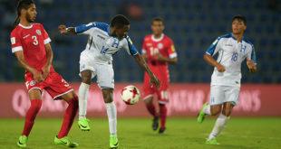 Honduras clasifica a octavos de final en Mundial Sub-17