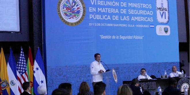 Honduras solicitará OEA celebrar 70° aniversario en San Pedro Sula