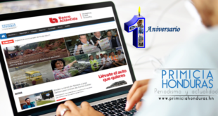 Primicia Honduras celebra primer aniversario