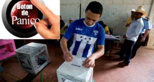 Colocan botones de pánico en urnas de Tegucigalpa y SPS