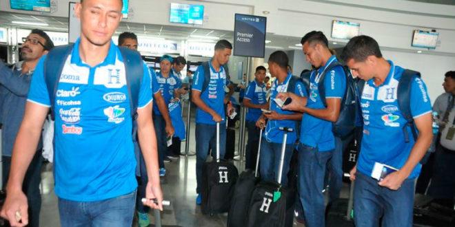 Selección de Honduras ya viaja a Sídney, Australia